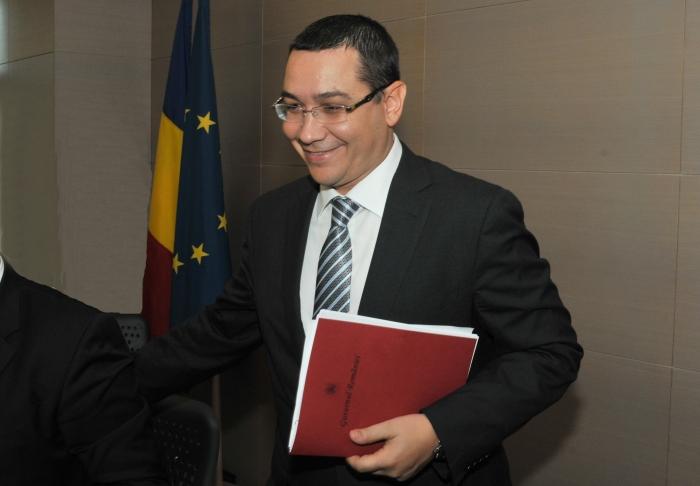 Premierul Victor Ponta.