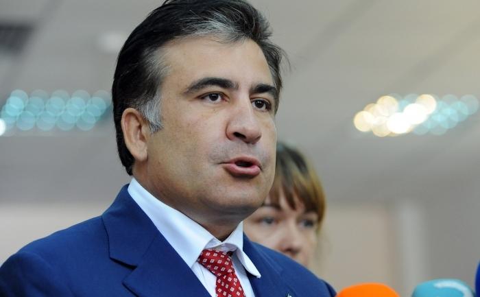 Fostul preşedinte georgian Mihail Saakaşvili.