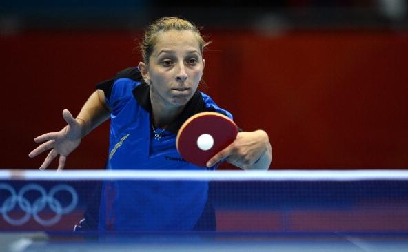 Jucătoarea română de tenis de masă Elizabeta Samara. (arhivă)