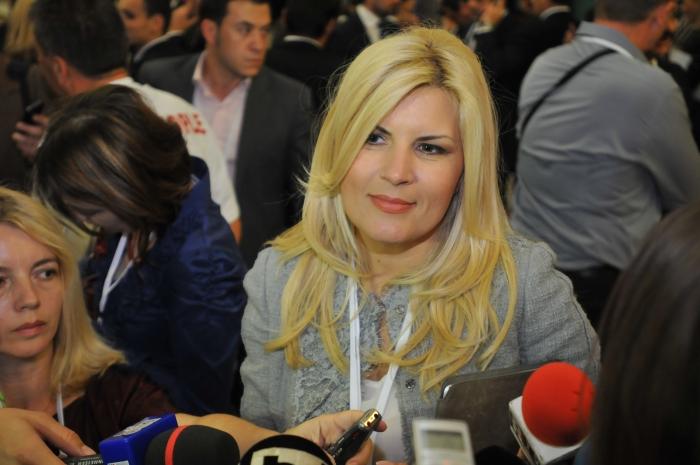 Lucrările Congresului Partidului Popular European (PPE) de la Palatul Parlamentului. Elena Udrea.