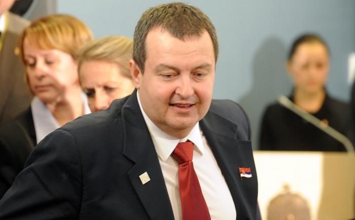 Primul ministru sârb, Ivica Dacic.
