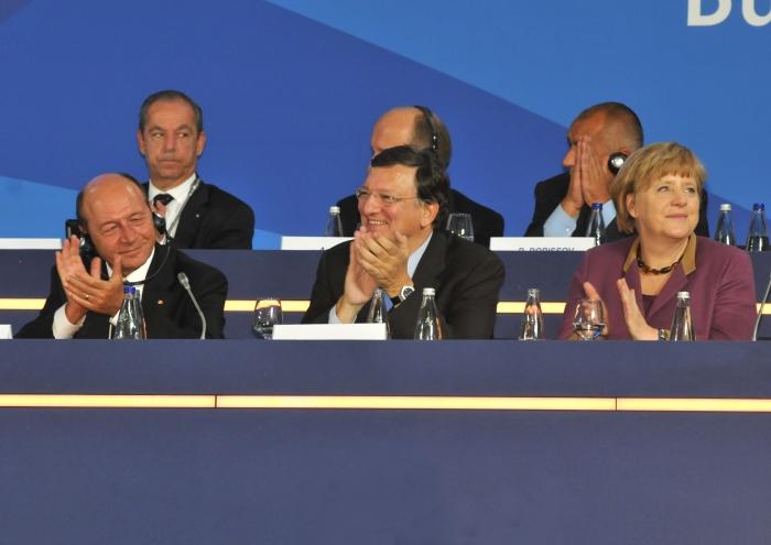 Traian Băsescu la Congresul PPE de la Bucureşti