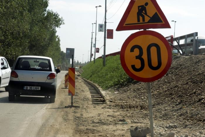 Centura Bucureştiului, trafic auto