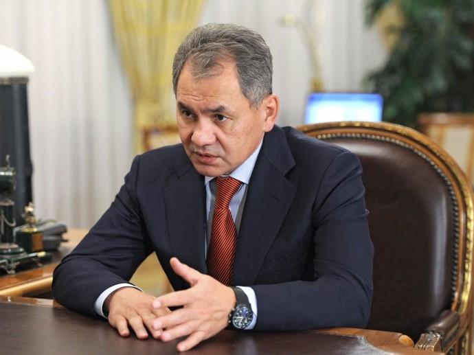 Ministrul rus al Apărării, Sergei Shoigu.