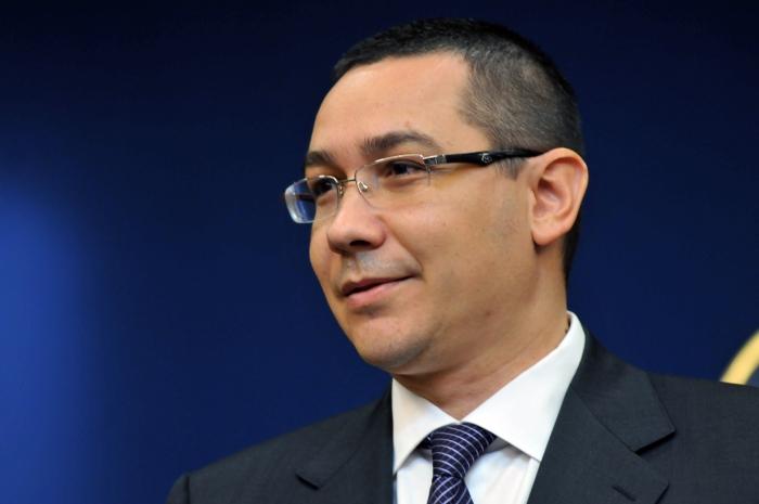 Victor Ponta,declaraţii la Palatul Victoria