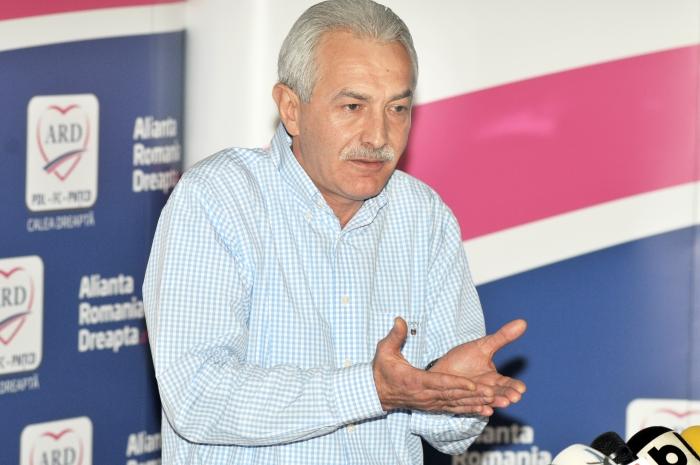 Doru Mărieş, conferinţă de presă la sediul ARD