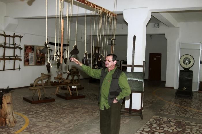 Răzvan Ciucă, fost director al muzeului naţional al agriculturii din Slobozia