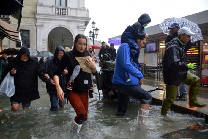 Veneţia inundată, 11 noiembrie 2012