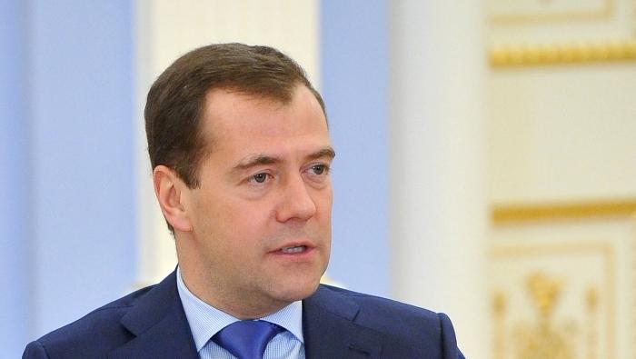 Premierul rus Dmitri Medvedev în Gorki, 2 noiembrie 2012