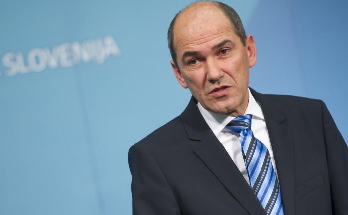 Primul ministru sloven, Janez Jansa.