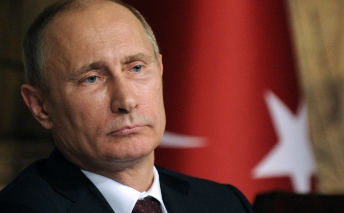 Preşedintele Rusiei, Vladimir Putin.