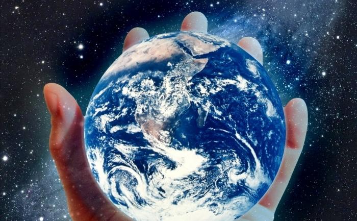 Pământul in palma dvs.