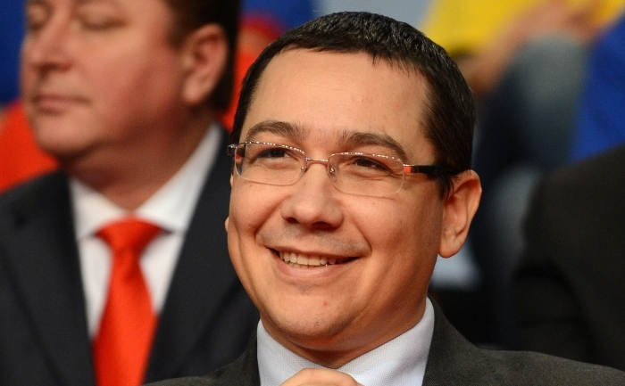 Premierul român, Victor Ponta.