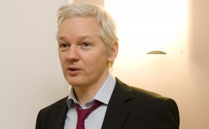 Fondatorul WikiLeaks, Julian Assange.