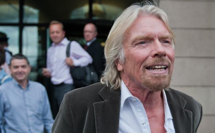 Miliardarul britanic Richard Branson.