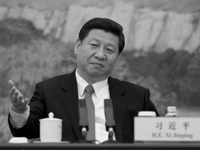 Liderul chinez Xi Jinping în Marea Sală a Poporului, Beijing, 5 decembrie 2012