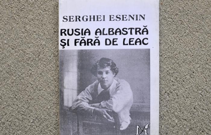 """Serghei Esenin, autorul cărţii """"Rusia albastră şi fără de leac"""""""