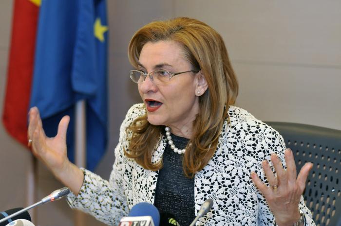 Maria Grapini,ministru delegat pentru IMM, Mediu de Afaceri şi Turism