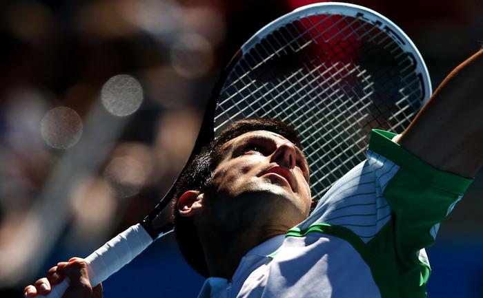 Sârbul Novak Djokovic.