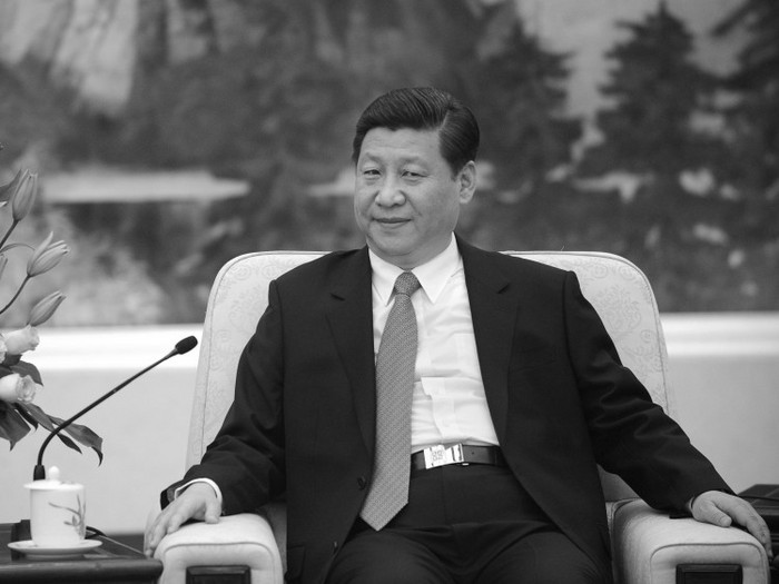 Liderul Partiului Comunist Chinez, Xi Jinping, în Marea Sală a Poporului, 27 decembrie 2012, Beijing, China