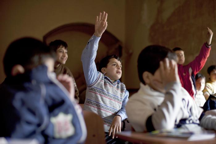 Copii la şcoală