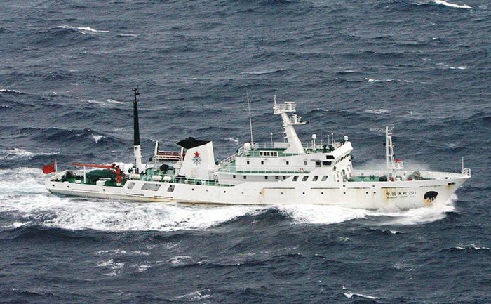 Nave chineze în arhipelagul Senkaku