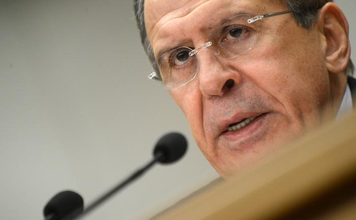 Ministrul rus de Externe, Serghei Lavrov