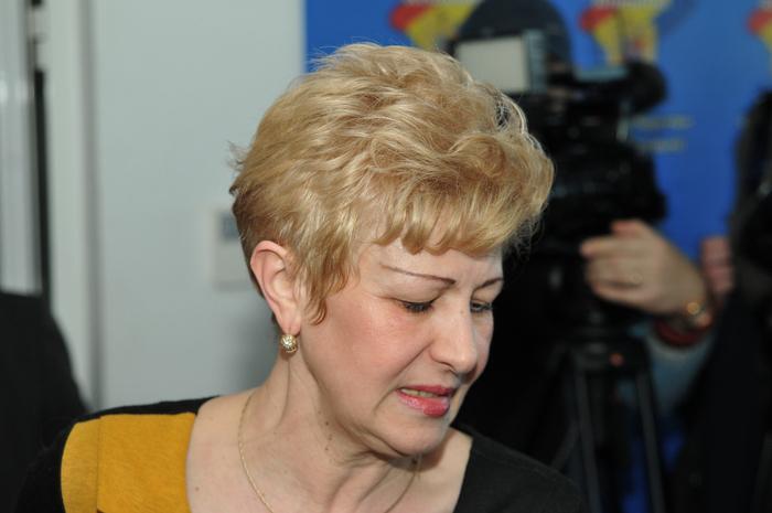 Plenul reunit la Consiliului Suprem al Magistraturii (CSM). În imagine, Livia Doina Stanciu