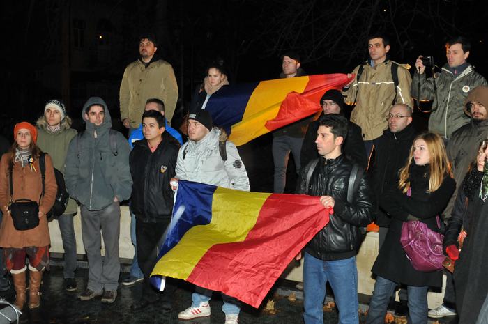Flash-mob şi horă la Monumentul Km.0 cu prilejul Zilei Unirii