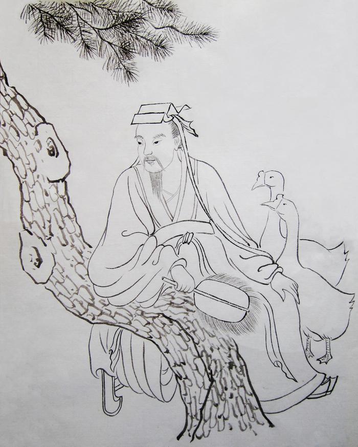 Wang Xizhi, maestrul caligrafiei.