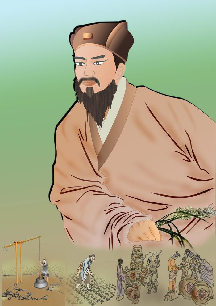 Jia Sixie, autorul primei enciclopedii agricole din China.
