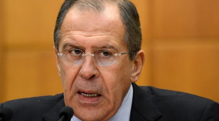 Ministrul rus de Externe, Serghei Lavrov în Moscova