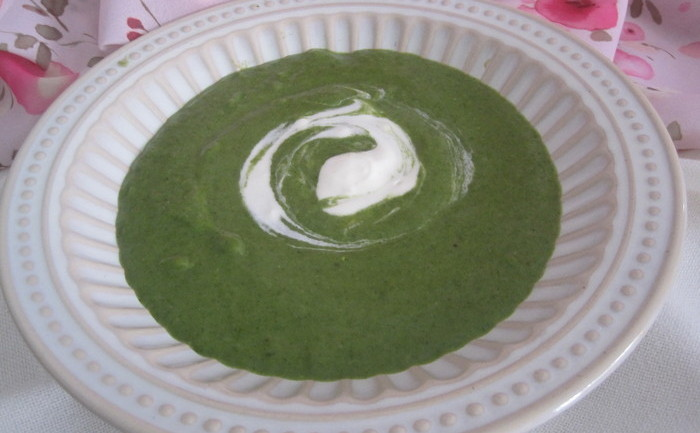 Supa cremă de spanac