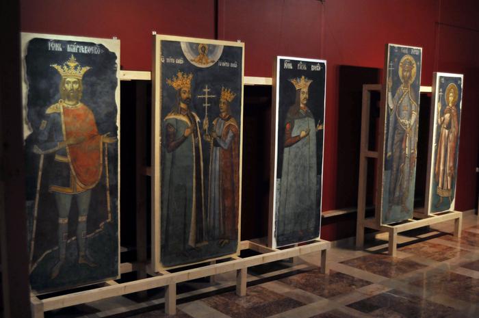 Frescele Mânăstirii Argeşului, expoziţie la Muzeul Naţional de Artă