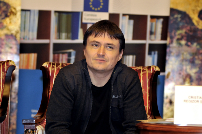 Regizorul român Cristian Mungiu.