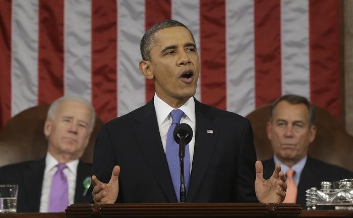 Preşedintele Barack Obama.