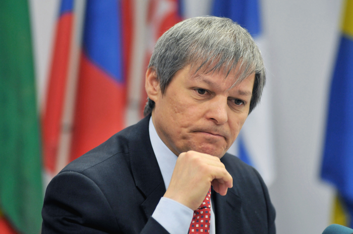 Comisarul european pentru  agricultură şi dezvoltare rurală, Dacian Cioloş.