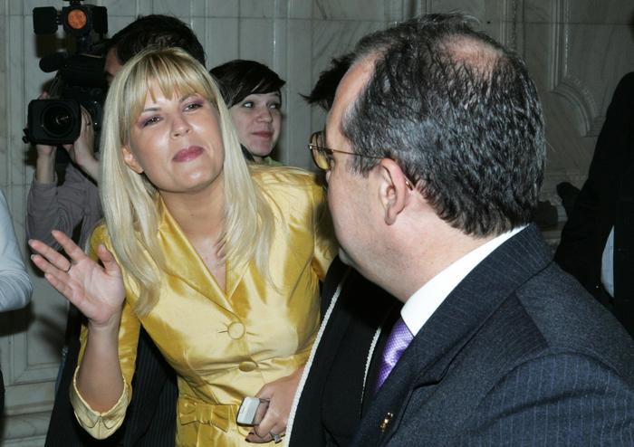 Candidaţi la şefia PDL. În imagine, Emil Boc, Elena Udrea