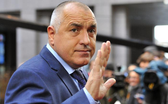 Premierul bulgar Boiko Borisov.