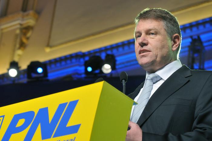 Congresul PNL, 22-23 Febroarie 2013, Bucureşti,România. În imagine, Klaus Iohannis