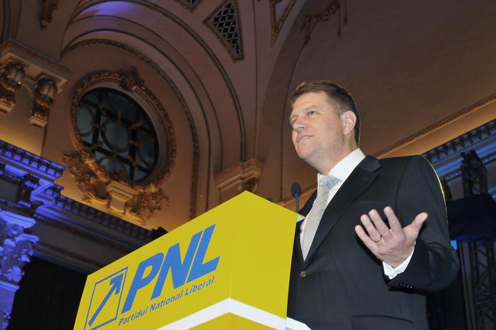 Prim-vicepreşedintele PDL, Klaus Johannis.