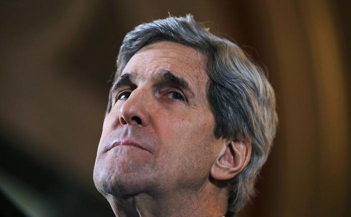 Secretarul american de stat, John Kerry, 25 februarie 2013