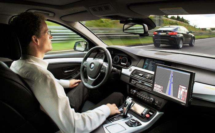 Prototip BMW pentru condus autonom