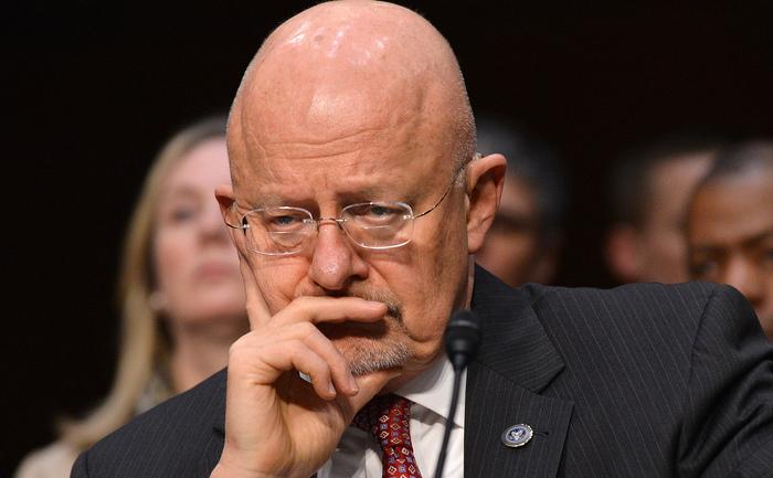 James Clapper, şeful Serviciilor americane de informaţii.