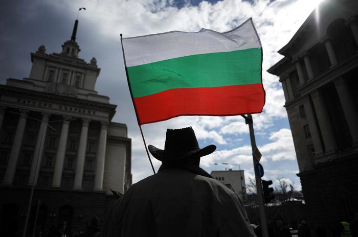 Proteste în Sofia - 10 martie 2013.