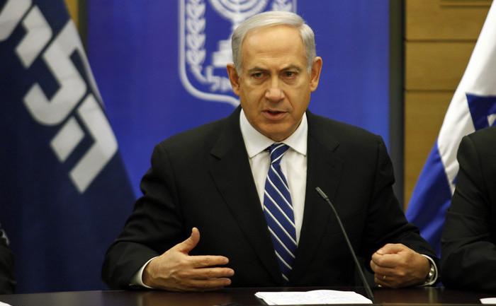 Premierul israelian Benjamin Netanyahu.