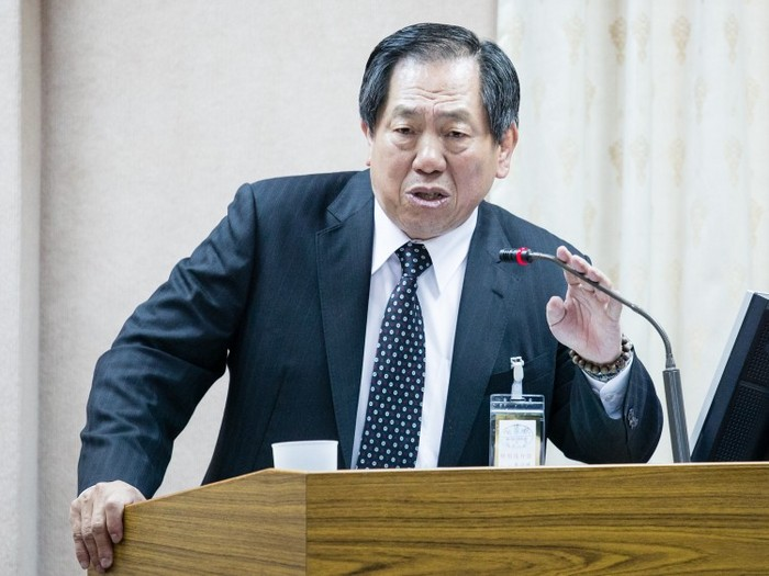 Directorul general al Biroului taiwanez pentru Securitate, Tsai De-sheng.