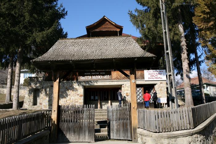 Muzeul Chihlimbarului din comuna Colţi