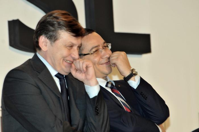 Crin Laurenţiu Antonescu şi Victor Ponta