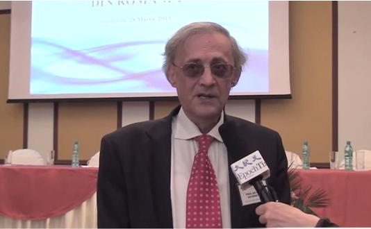Preşedintele Colegiului Medicilor, profesor dr. Vasile Astărăstoae.
